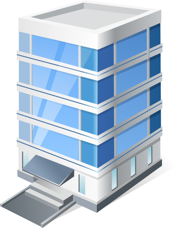 Office clipart corporate office. Building clip art company