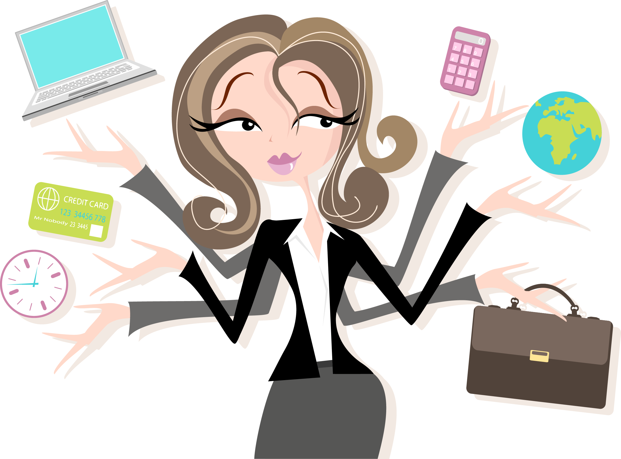 Pin by virtual task. Support clipart admin assistant