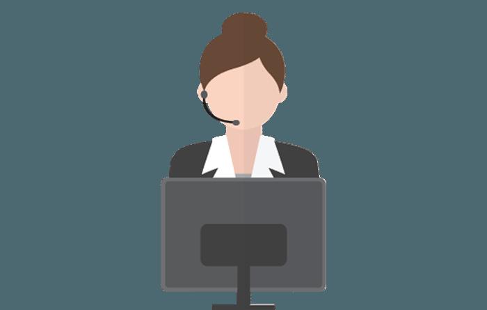 Receptionist office helper