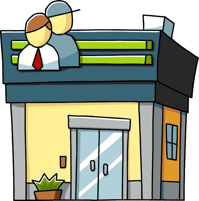 Office clipart office block. Employment scribblenauts wiki fandom