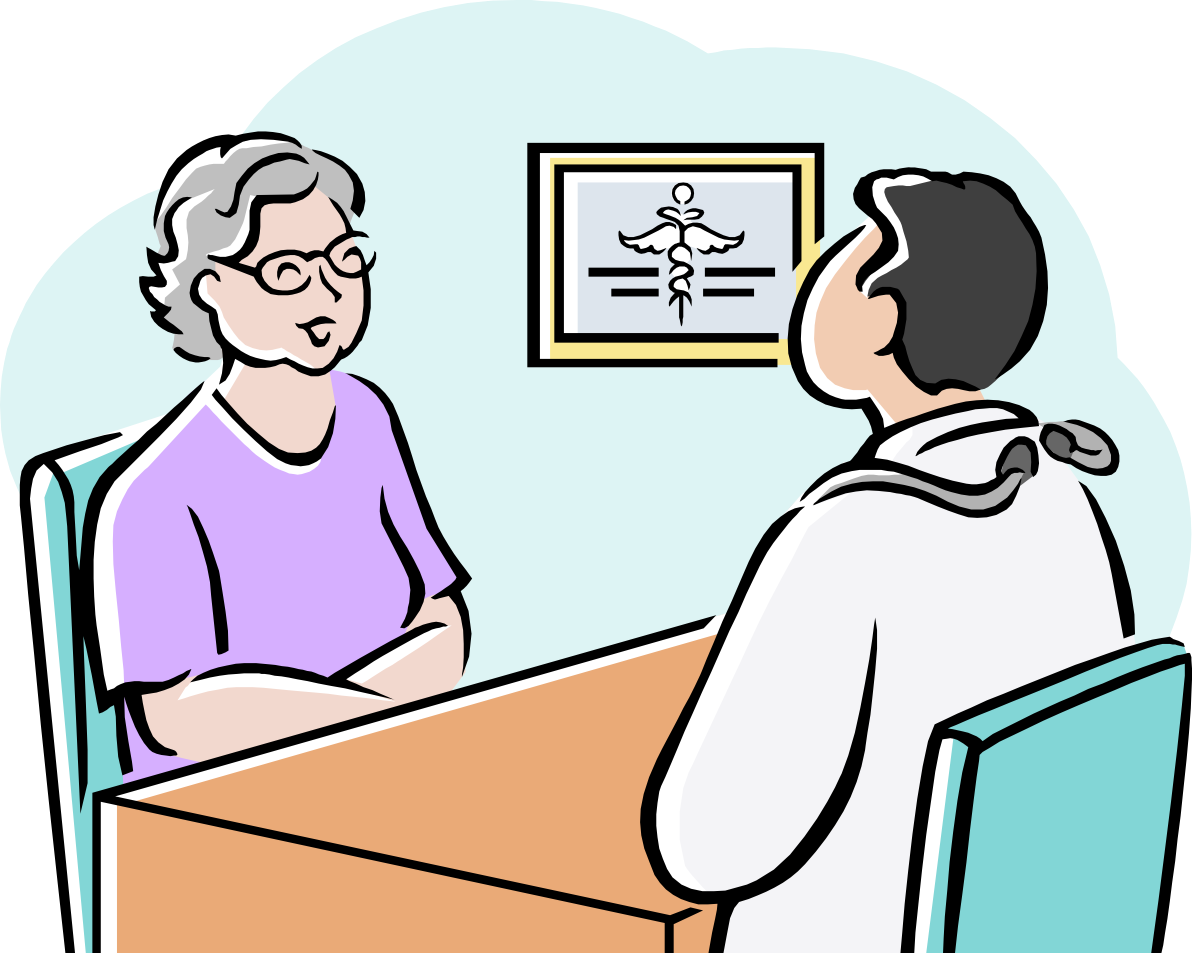 Patient clipart doctor exam. Office s free on
