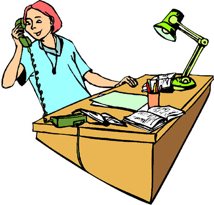 Telephone clipart phone call. Office panda free images