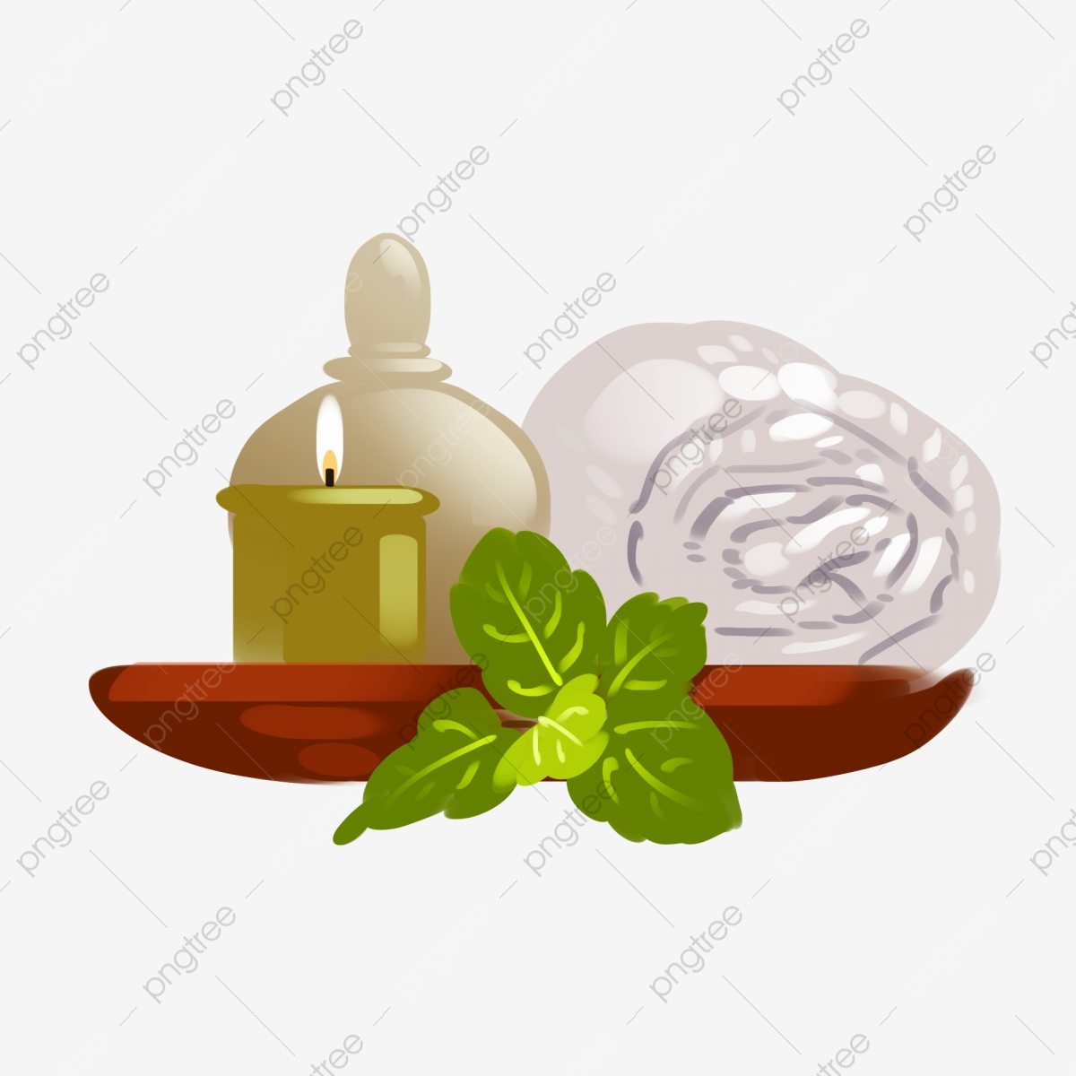 Oil clipart health. Supplies towel spa png