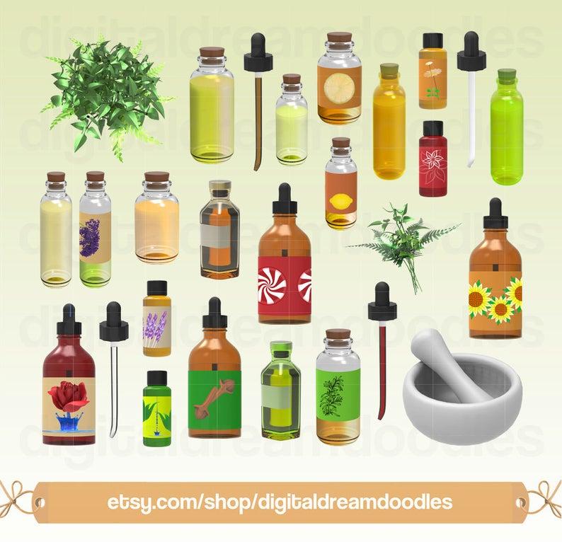 Oil clipart oil bottle. Essential oils clip art