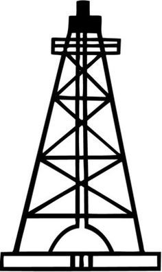Öl-Rig SVG-Dateien für Cricut Stadt Öl Pumpe Clipart Datei   Etsy