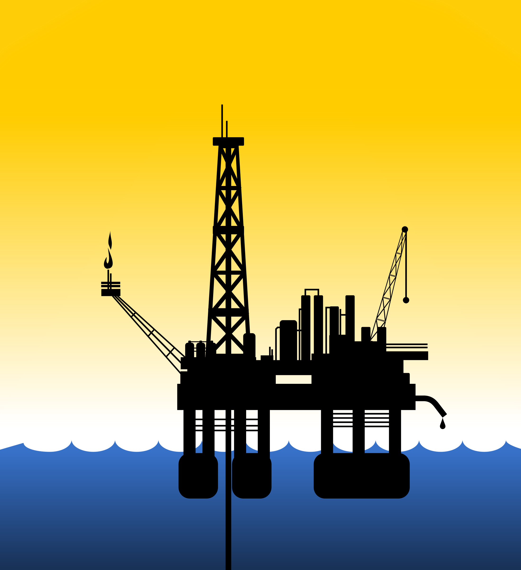 Rig big image png. Oil clipart oil drilling