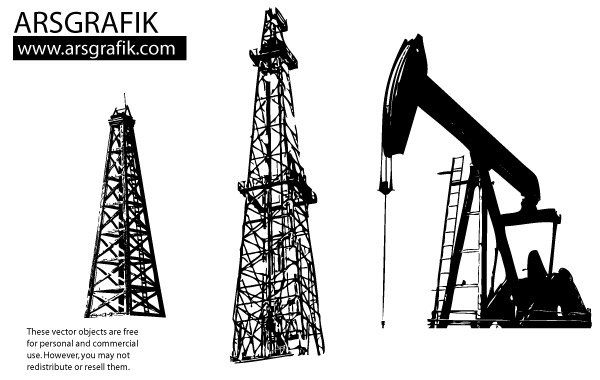 Oil clipart oil drilling.  well clip art