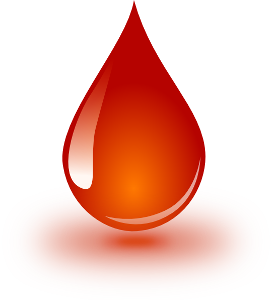 Blood drop png. Clip art at clker