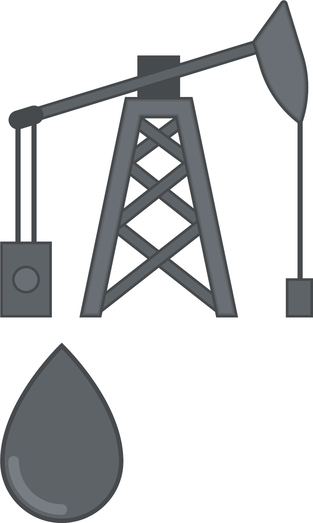 Of petroleum barrel gray. Oil clipart oil extraction