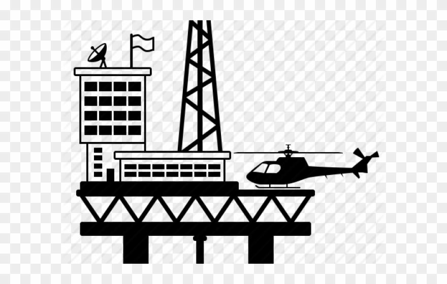 Oil clipart oil platform. Rig energy infografia de