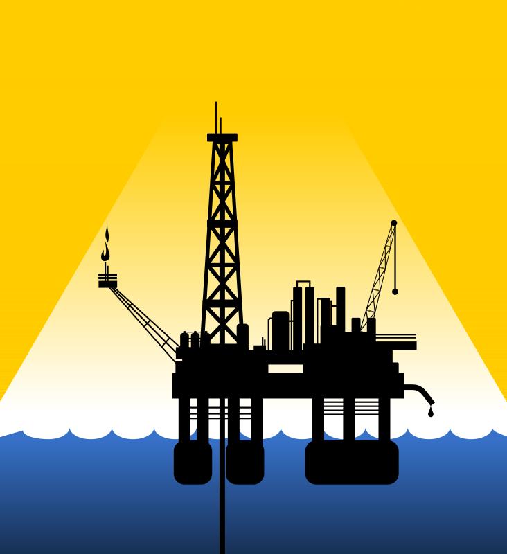 Background sky transparent clip. Oil clipart oil platform