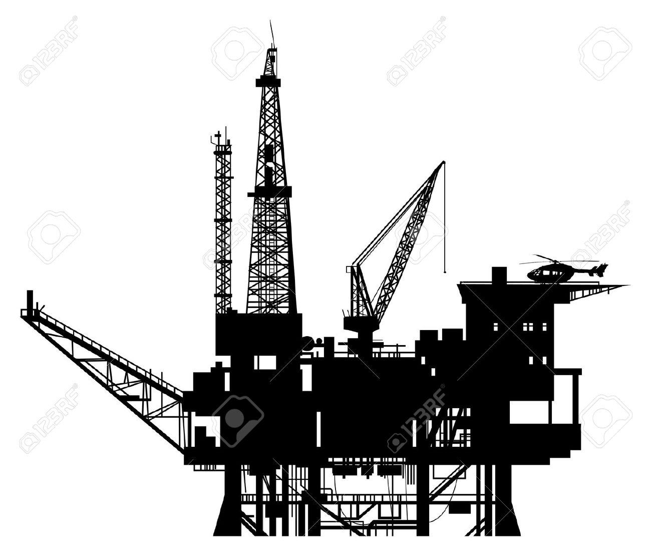 rig clipartlook. Oil clipart oil platform