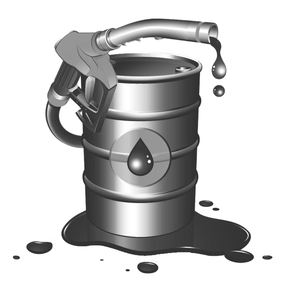 Diesel fuel gasoline material. Oil clipart petroleum barrel