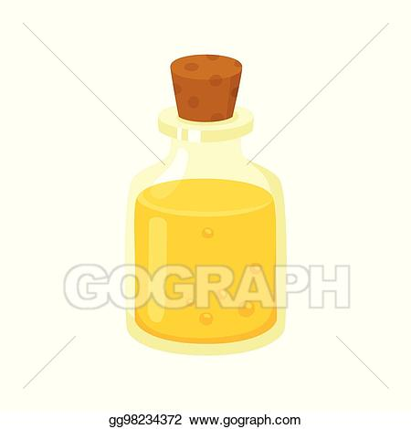 Oil clipart product spa. Vector illustration massage in