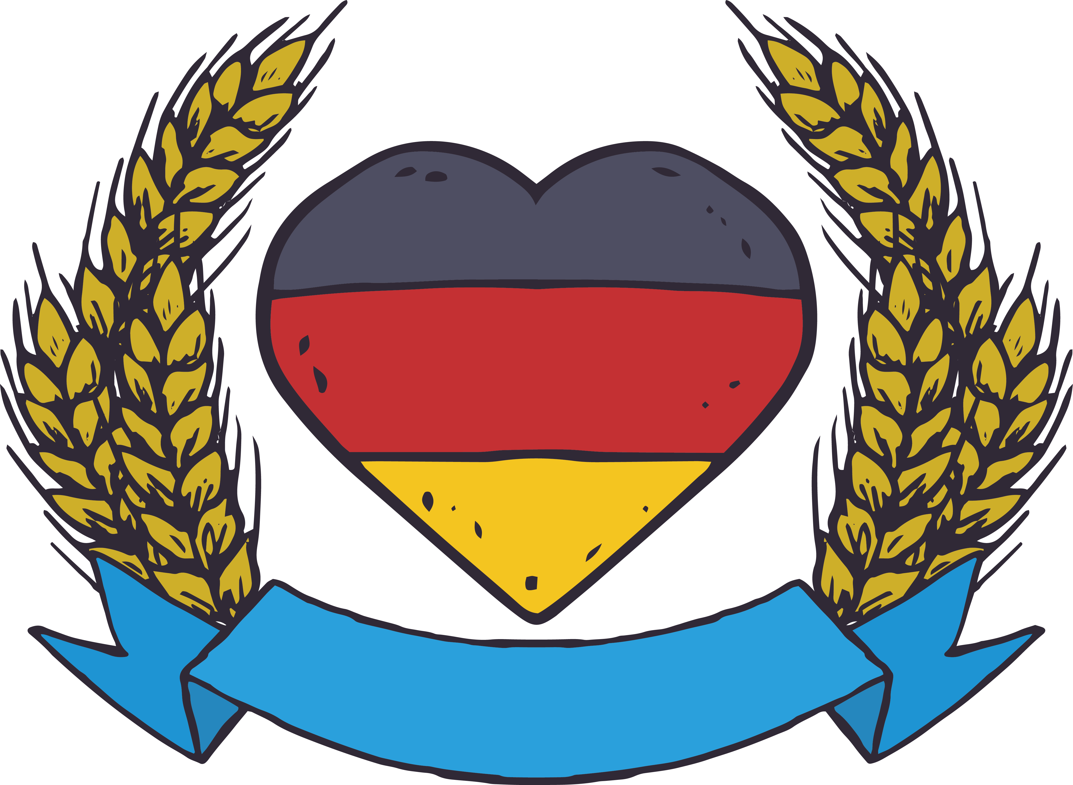Oktoberfest clipart thing german. Germany beer illustration painted