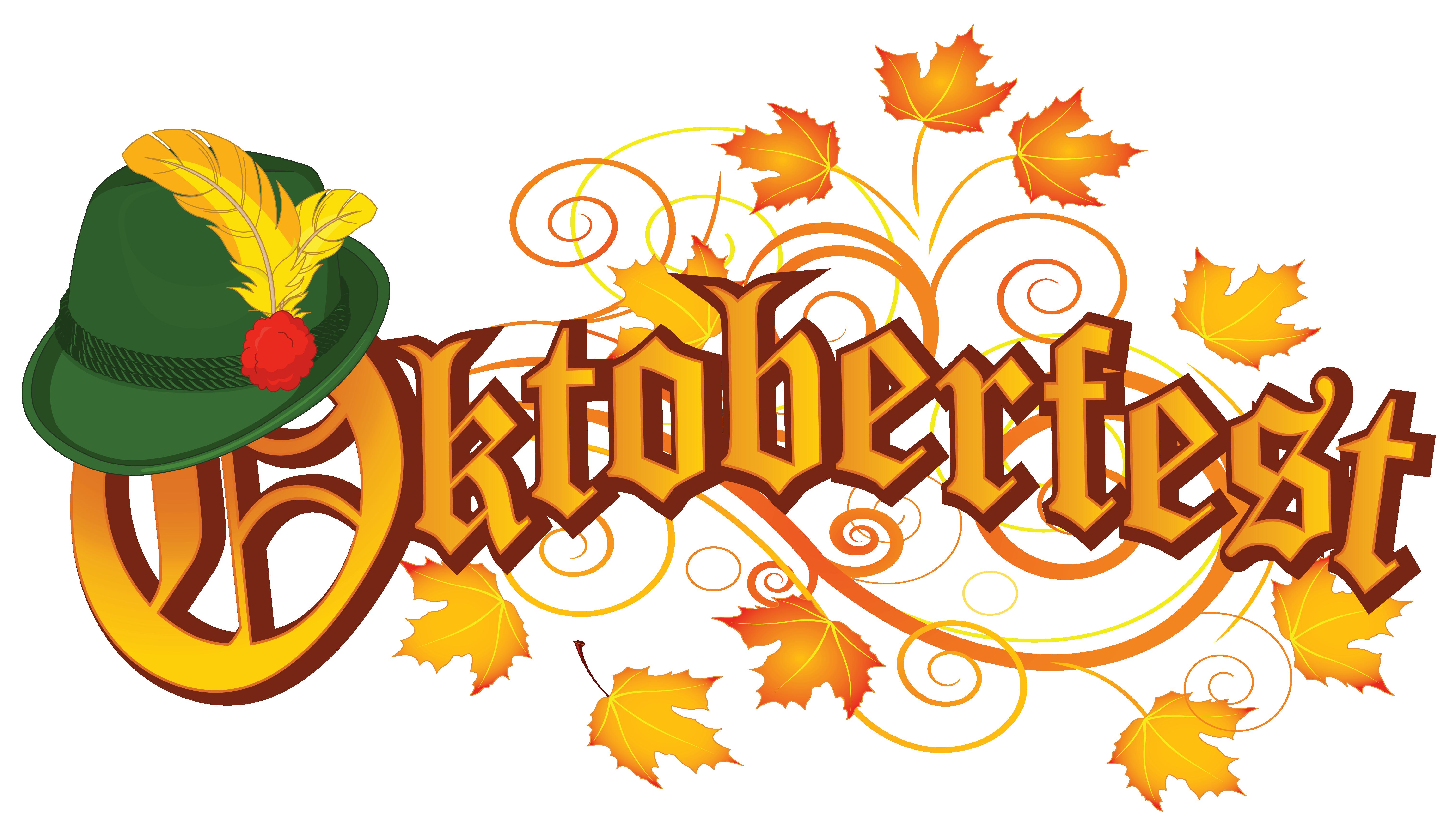 Oktoberfest text png image. Spider clipart decor