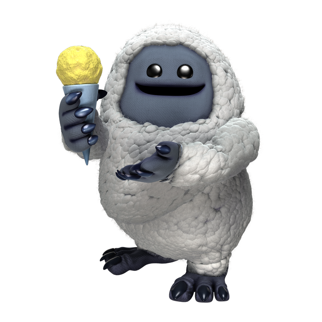 Olaf clipart abominable snowman. Monsters inc boo coming