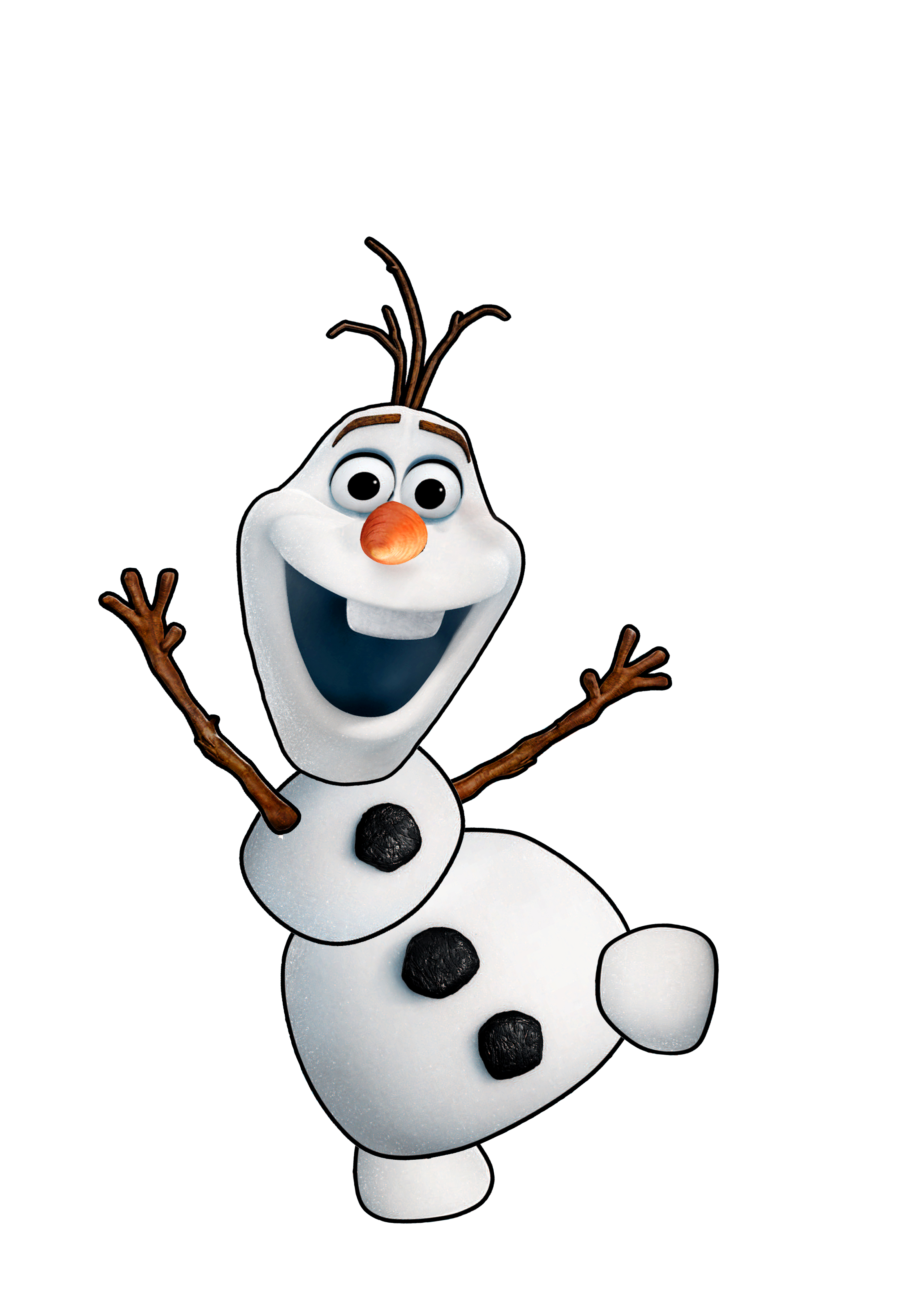 Frozen summer car tuning. Olaf clipart clip art