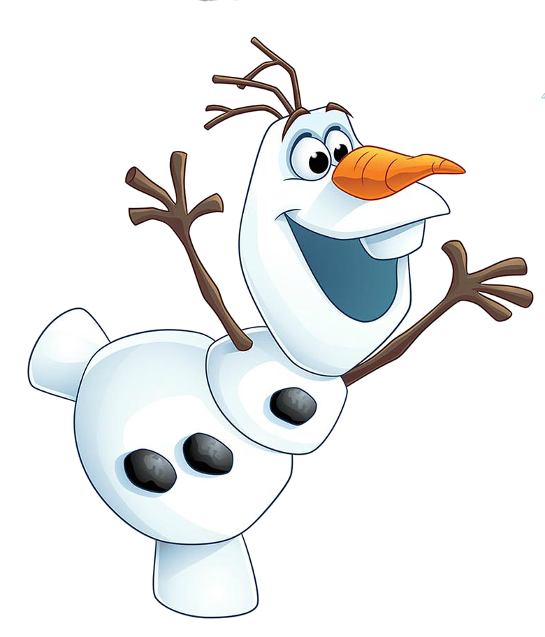 Huge collection of download. Olaf clipart melting