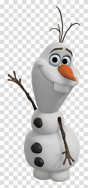 Nose transparent background png. Olaf clipart thinking