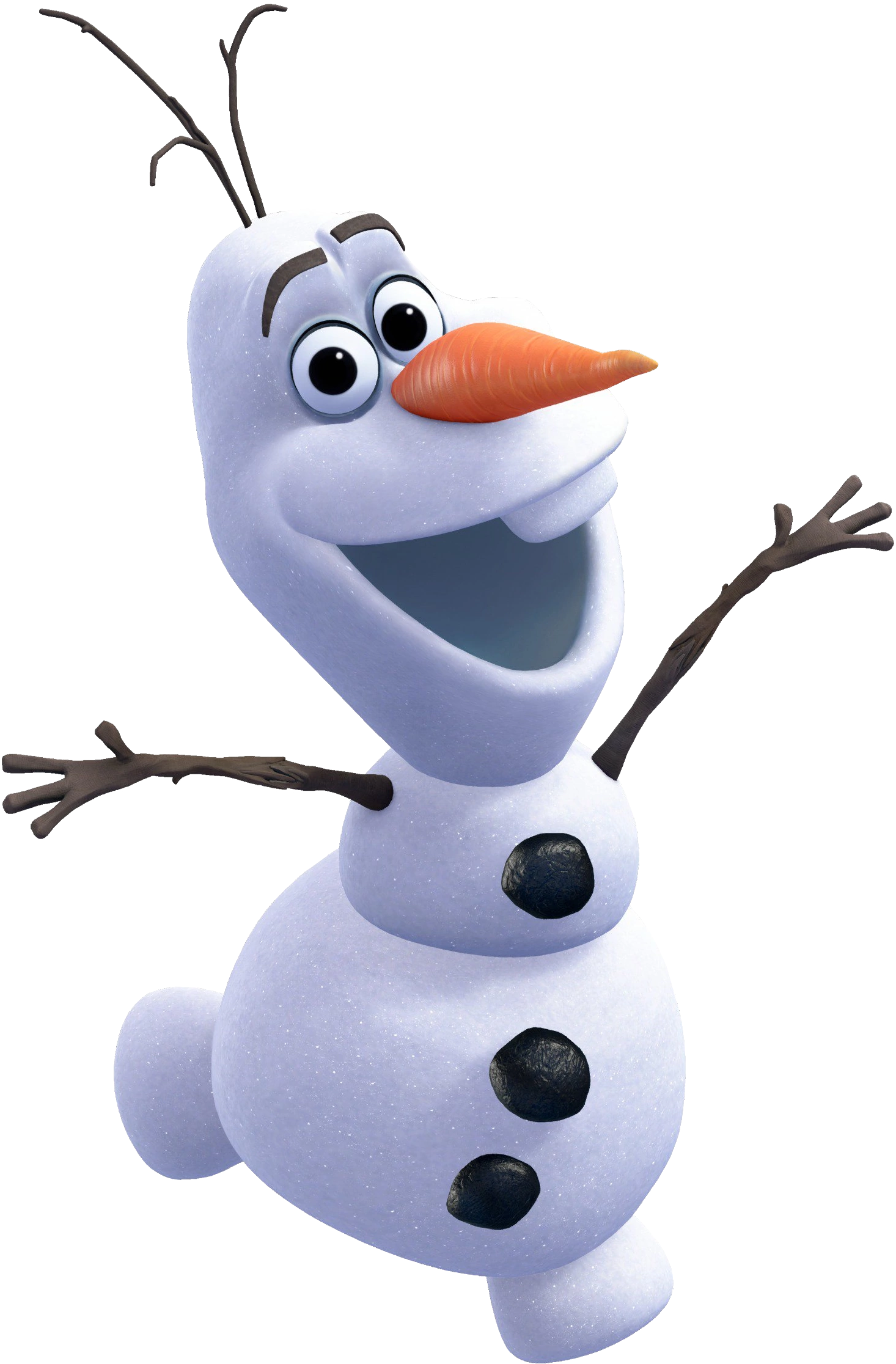 Png full size pinclipart. Olaf clipart transparent