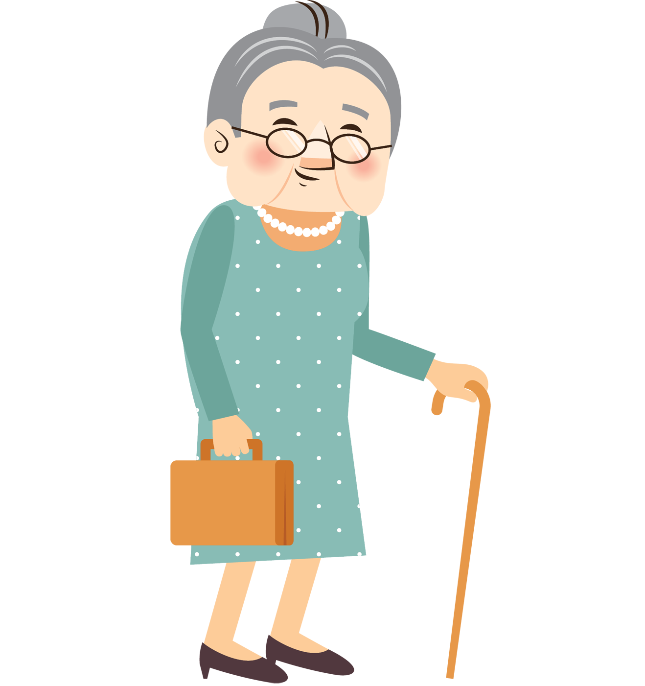 Old clipart aged person.  bauhinia foundation research