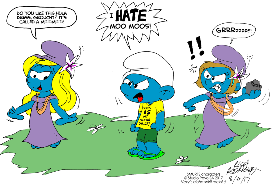 Famous last words color. Old clipart grouchy
