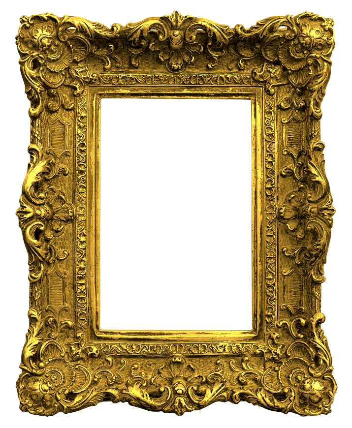 Old frame png. Fashioned picture frames o