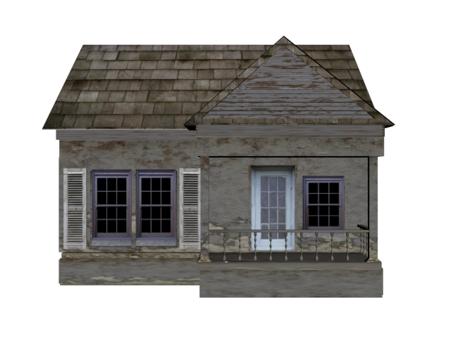 Old house png. By cherry on deviantart