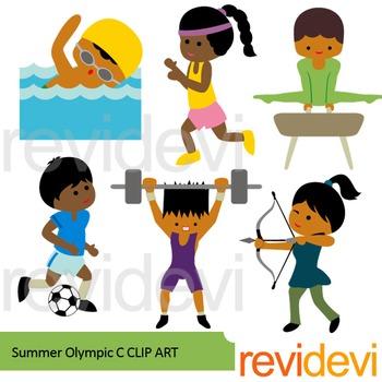 Sport clip art summer. Olympic clipart