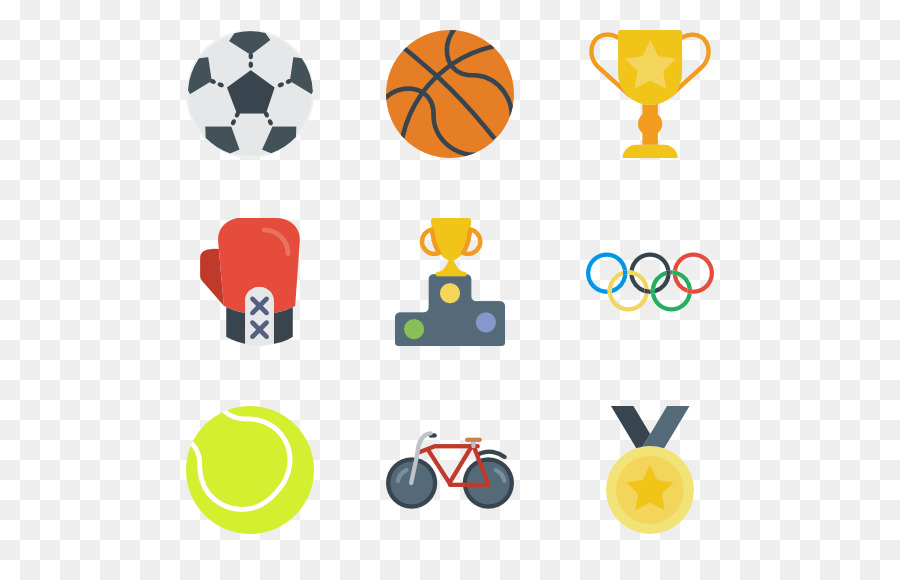 Olympic clipart athletic game. Summer icon sports football