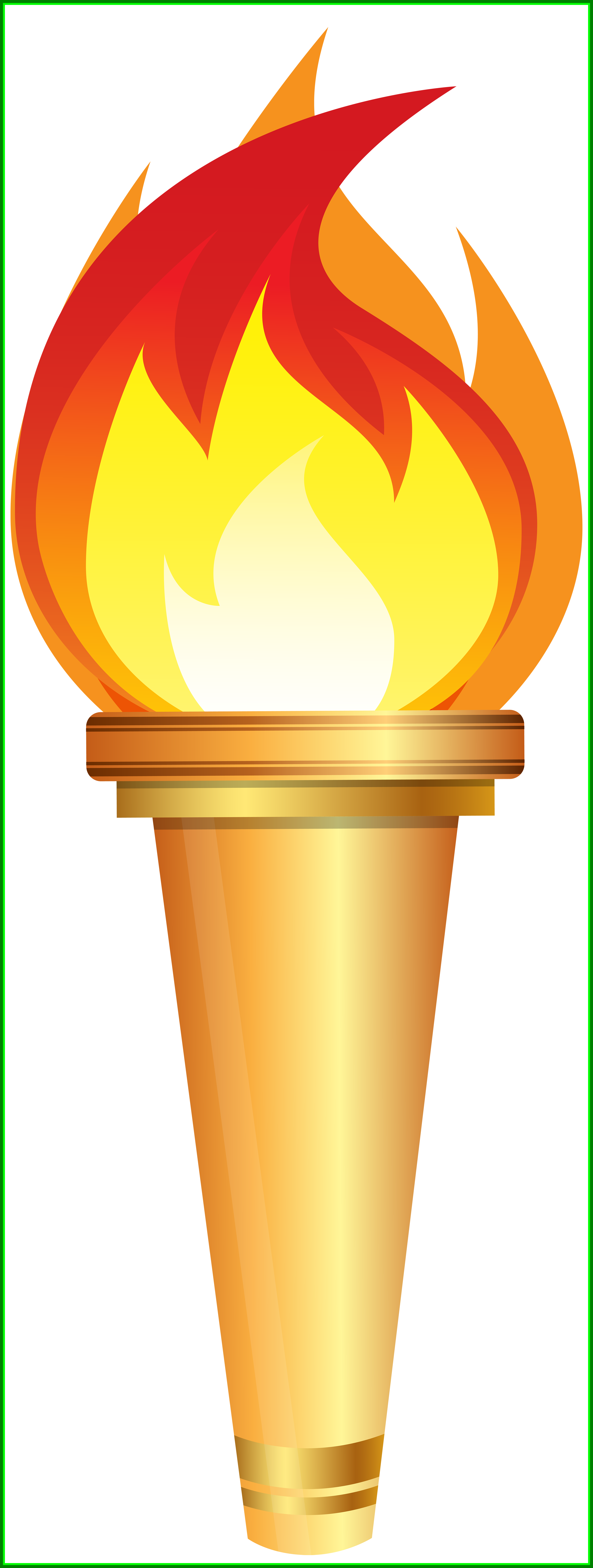 Torch clipart border. Shocking olympic png clip