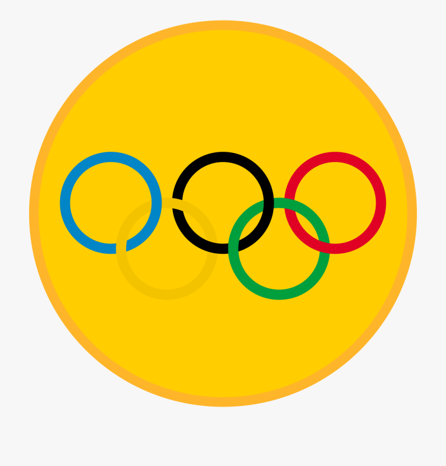 Jpg black and white. Olympic clipart olympic gold medal