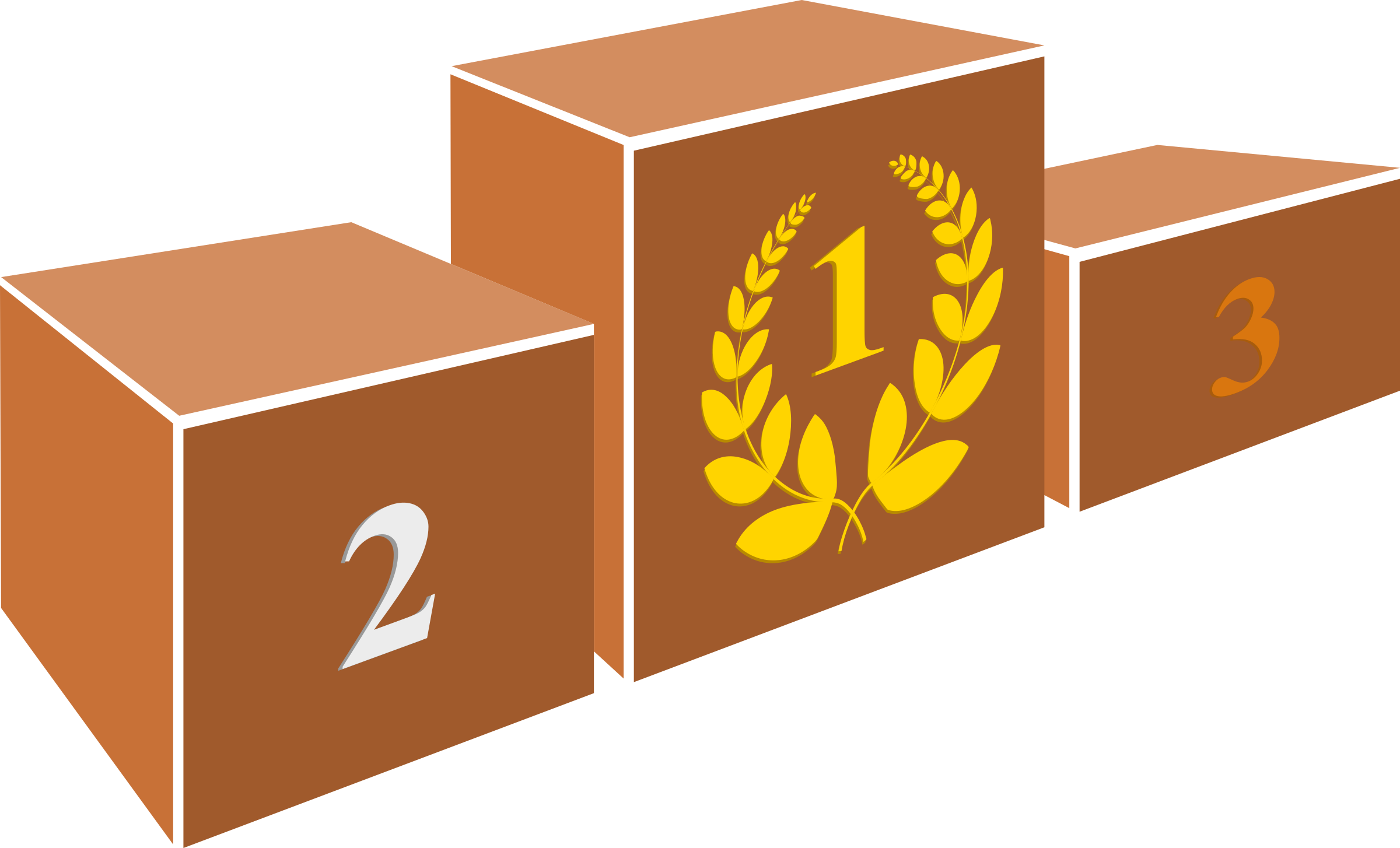 Podium clipart wooden.
