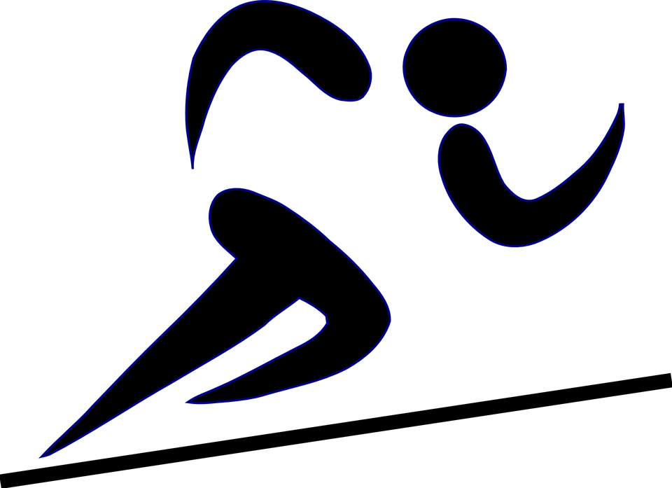 Runner icon png free. Olympic clipart sport person