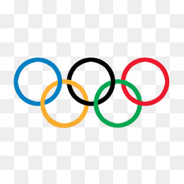 Olympics clipart. The olympic rings png