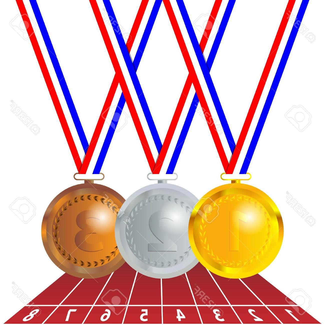 Best olympic medals drawing. Olympics clipart