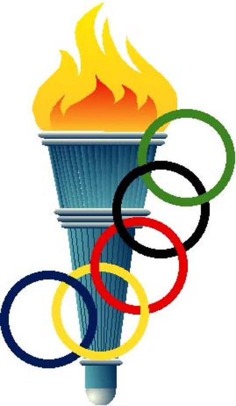 Olympic torch winter games. Olympics clipart olympics flame