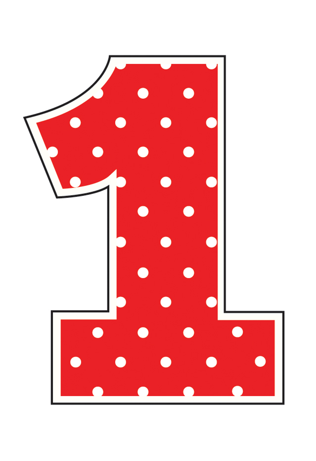 1 clipart numeral.  number one clipartlook
