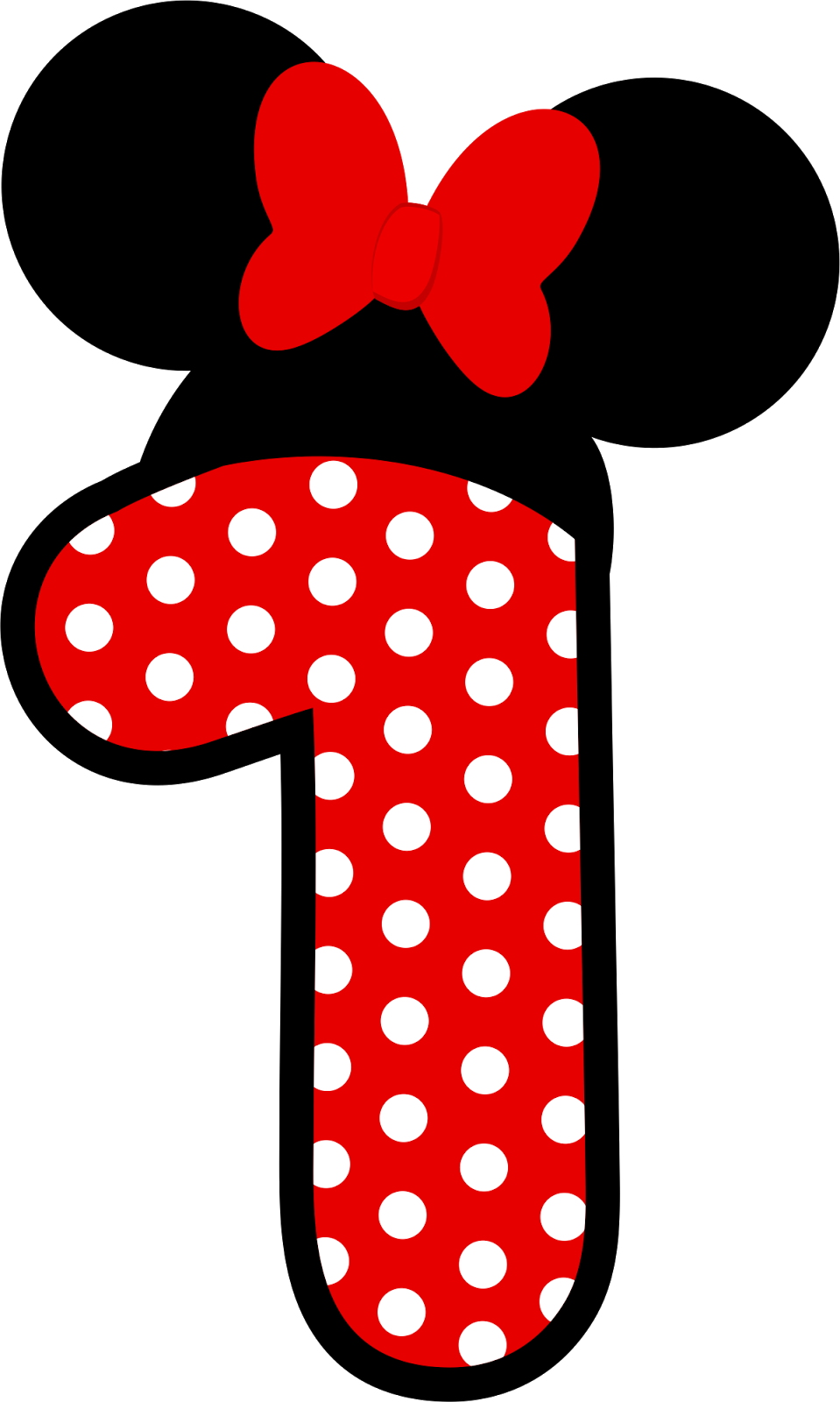 One clipart minnie mouse. Passatempo da ana n