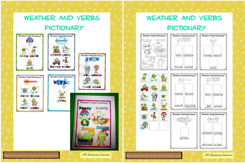 Windy clipart weather word. Efl elementary teachers esl