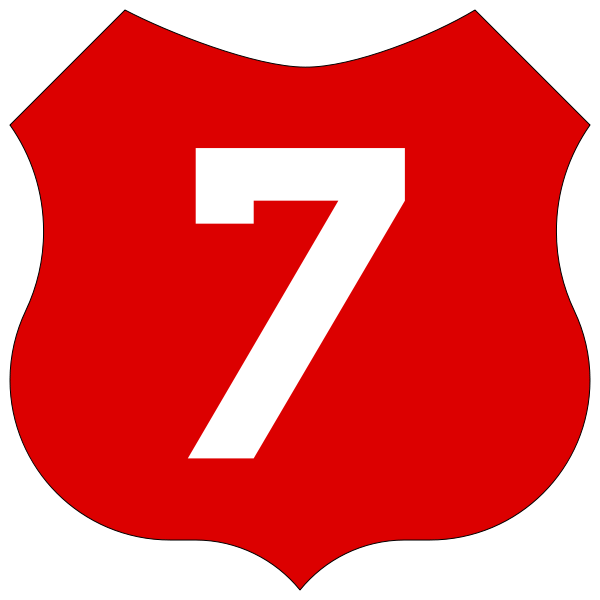 one clipart single number