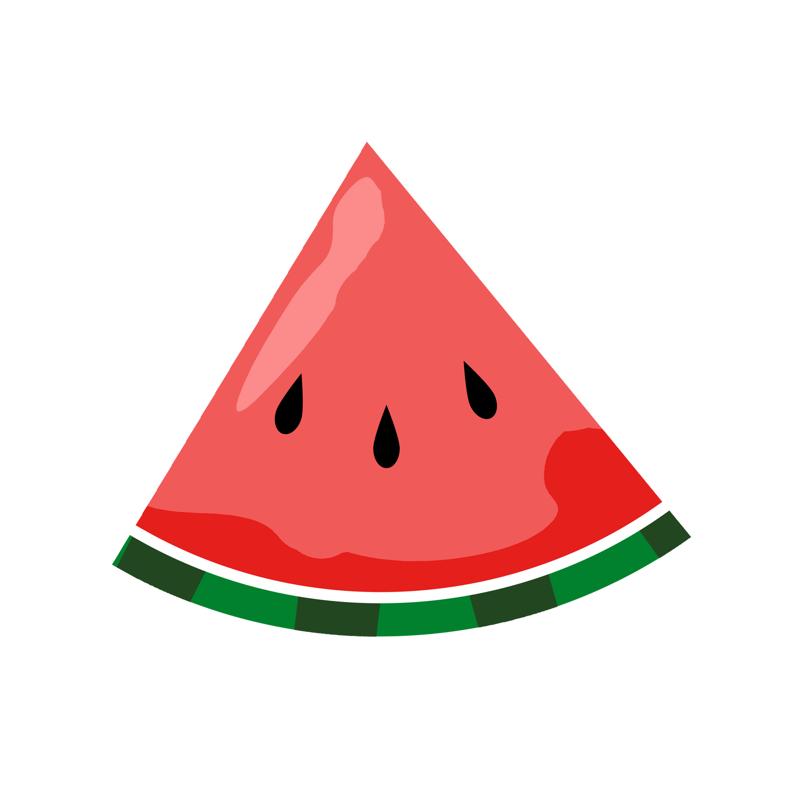 Lovely of png letters. Watermelon clipart carton