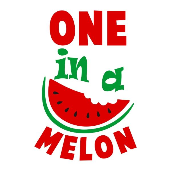 Watermelon clipart one in melon. Pin by cuttabledesigns on