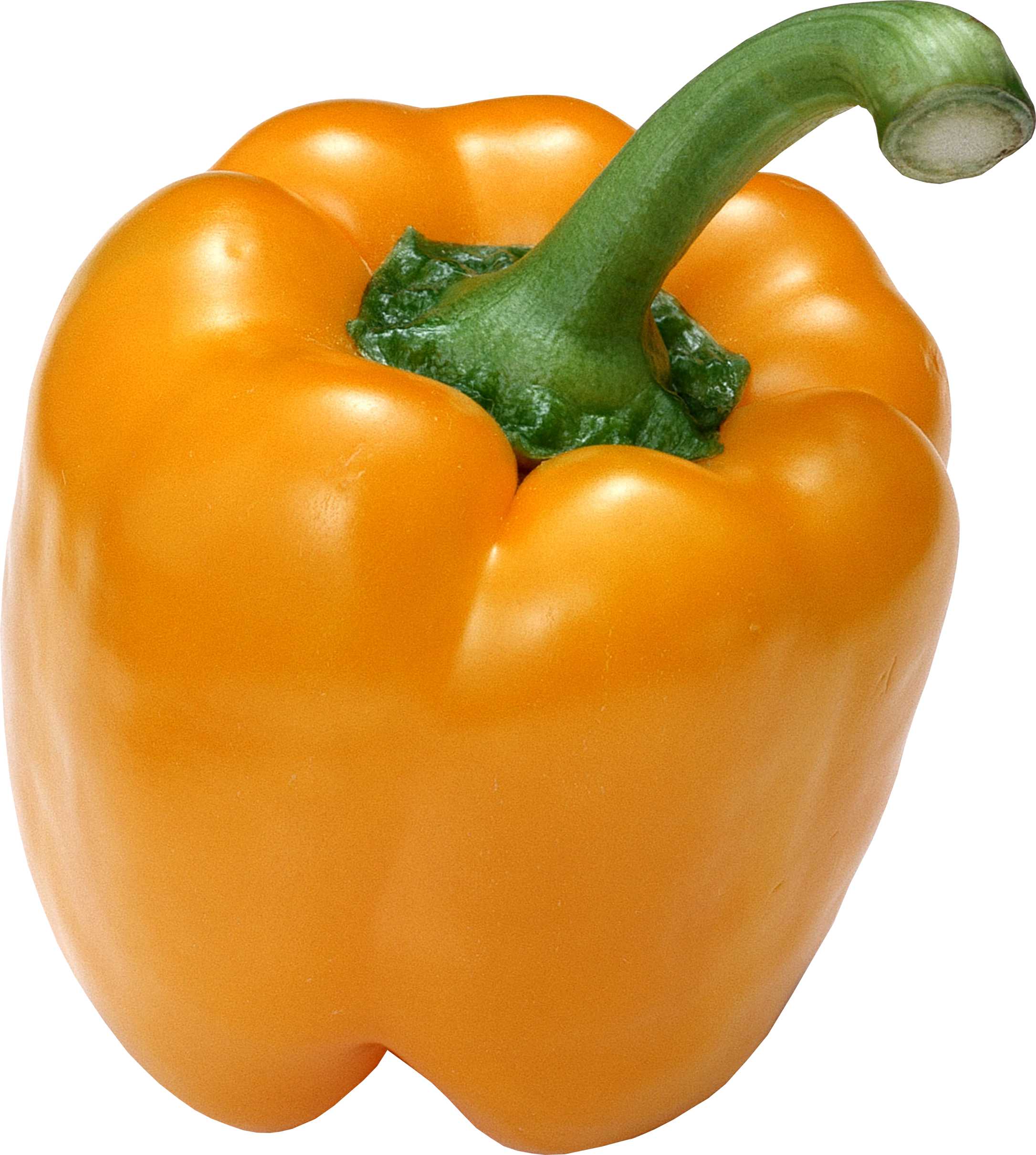 Yellow bell pepper one. Peppers clipart drawing