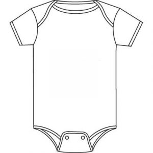 Onesie clipart. Free detailed onsie all