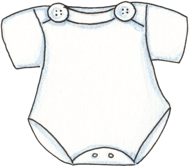 Onesie clipart. Coloring page best photos