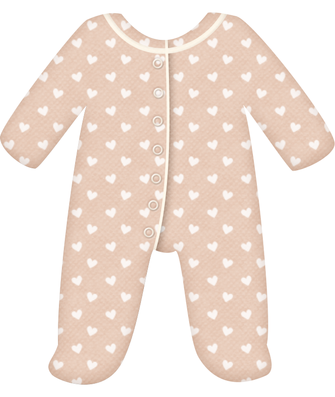Pajamas clipart baby overalls. Girl babies and clip