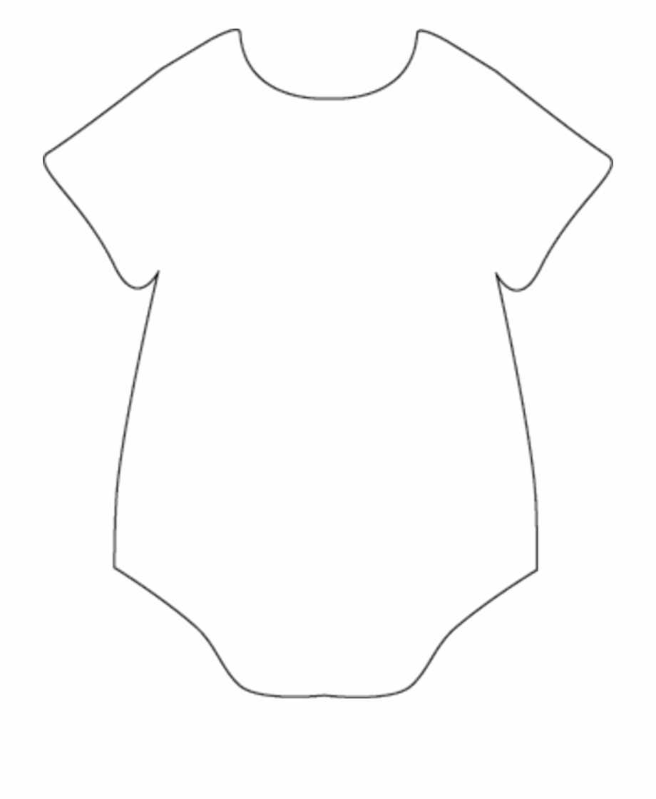 Onesie clipart banner. Baby template drawing pngtube