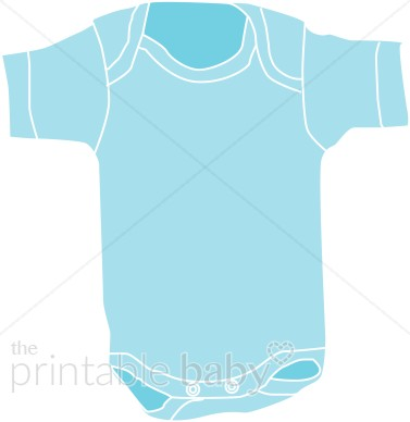 Baby blue clothing . Onesie clipart teal